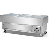 全国联保 2.0m海鲜柜、超市商店海鲜展示柜、冷藏冷冻柜