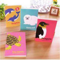 新款 可爱海洋动物小本子 韩国卡通记事本 小笔记本 记事本可定做