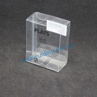 厂家直销 透明水晶胶盒 PVC空白盒 丝印折盒