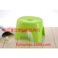 热卖中浴室凳 加厚多彩防滑凳子矮凳换鞋凳时尚创意家居必备