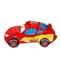 萌迪士尼汽车总动员毛绒玩具 闪电麦昆车公仔小汽车宝宝儿童礼物