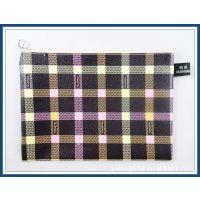 供应新款格子纹皮革网袋 文件袋 OUSHENG欧盛网袋966OS