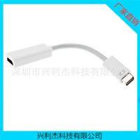 供应苹果笔记本 mini dvi转hdmi转接线 高清电视连接线 迷你DVI线