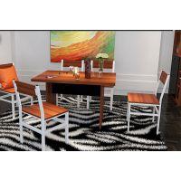 璟鸿家具餐厅家具板式餐桌科学设计温馨有质感