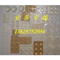 东莞盛裕-橡胶制品-透明PVC胶垫 一万个起批 厂家直销