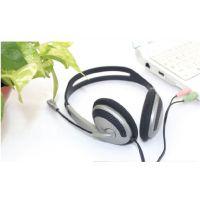 头戴式电脑大耳机 带麦加线控游戏耳机