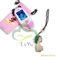 手机挂件、飞天小女警挂件、迪士尼挂件