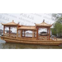 木船/画舫船/观光游船/电动旅游船/画舫木船,来图定做