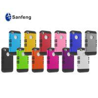 三合一组合创意设计手机壳 苹果iphone4可做水贴图案手机保护套