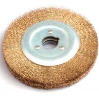 带柄平行钢丝刷、不锈钢丝轮、钢丝剥漆刷 抛光轮平型铜丝轮除锈