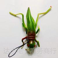 愚人节整人搞怪 仿真动物模型玩具挂件 仿真蚂蚱 蝗虫 吓一跳玩具