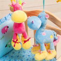 超其特新生儿八音盒拉铃小动物婴儿玩具床铃宝宝床头音乐挂件批发