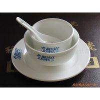 淄博消毒餐具 宾馆酒店摆专用 镁质强化瓷加厚餐具批发厂家