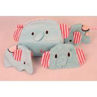 厂家直销可爱马戏团小象毛绒玩具零钱包纸巾抽卫生棉包包