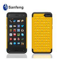 手工镶钻手机壳 亚马逊 fire phone 二合一加厚款硅胶手机保护套
