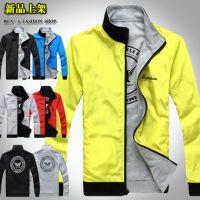 外贸EABY速卖通批发 男士休闲夹克外套两面穿 J513