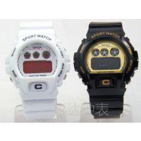 速卖通 亚马逊 多功能夜光防水 运动电子表 经典男女款 潜水腕表