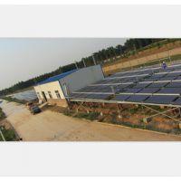 龙田太阳能热水工程鹤壁绿缘热力公司锅炉预热工程