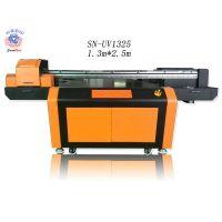 UV平板打印机 不锈钢印花机 电视背景墙彩印机