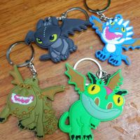 训龙高手2单面硅胶公仔钥匙扣&可爱动漫卡通钥匙圈创意礼品