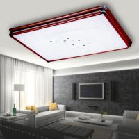 厂家直销LED白色木质边框吸顶板灯卧室 书房 厨房 卫生间 阳台灯
