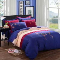 高端精梳棉刺绣全棉四件套 古典式绣花套件 结婚被套床单床上用品