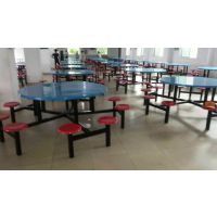 广东玻璃钢餐桌厂家 珠海食堂餐桌椅批发 阳江饭堂餐桌椅送货安装
