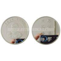 厂家供应 优质 金属纪念币 旅游纪念币 蛇年金属纪念币