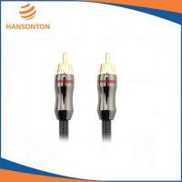 供应厂家热销|订做发烧级HST-5001数字同轴线 RCA对RCA 音频线 低音炮线