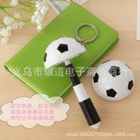 韩国创意卡通足球帽笔挂件圆珠笔 学生礼品学习用品文具批发