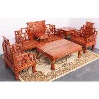 成都中式沙发 仿古沙发 雕花沙发定做