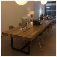 美式家具餐桌椅组合写字书会议定制