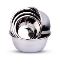 【厂家直销】不锈钢餐具厨具反边味斗 加厚不锈钢汤盆
