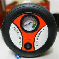 汽车用品汽车轮胎充气泵车载 便携式电动打气泵 轮胎电动充气机
