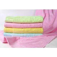 熊猫抱竹提花图案婴儿浴巾 竹纤维宝宝浴巾竹纤维加厚浴巾10055