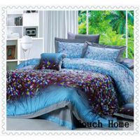 brushed yarn dying bedding set 8pcs Fabric material