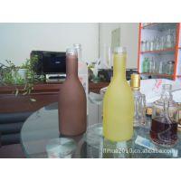 优质玻璃 梅酒瓶,喷涂酒瓶 玻璃泡酒瓶 梅酒玻璃瓶