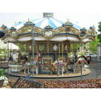 2014新款豪华转马游乐设备儿童乐园游乐设施许昌巨龙游乐