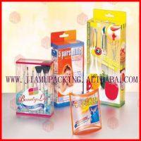 供应彩色印刷塑料盒,PVC包装盒,PP磨砂折盒,PET透明环保盒