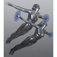 定做飞人姿势模特、飞翔姿势模特道具