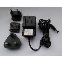 特供5V2A/5v1.5a可转换头电源适配器过认证全球通用国际标准