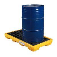 2桶盛漏平台SPP301盛漏容器盛漏栈板二次容器防泄漏平台油品化学品安全储运盛漏盛漏托盘
