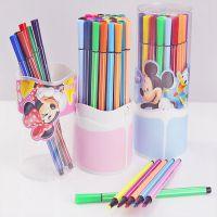 新款 正品授权迪士尼 筒装米奇水彩笔 36色可洗水彩笔 Z6161