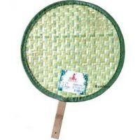 江桥竹藤生态装饰工艺品厂生产批发各种款式的民间工艺竹编扇