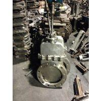 DMZ73W-10P低压不锈钢暗杆刀型闸阀 刀型闸阀 暗杆刀闸阀