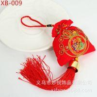 热销福包 2015羊年春节礼品  车挂饰 中国特色福字香包
