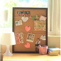 创意家居留言软木板 多用途 装饰照片背景墙 水松板 挂式