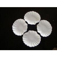 常年专供热卖一次性纸浆模塑花边蛋糕小碟