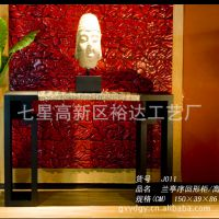中式古典风格树脂面实木家具  艺馆博古架 饰品展示架JJ011
