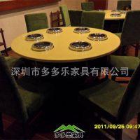 供应自助火锅桌椅|自助火锅店桌子|餐厅酒店餐桌 全国定做 质量保证